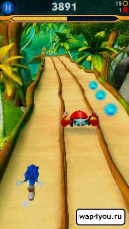 Скриншот Sonic Dash 2: Sonic Boom