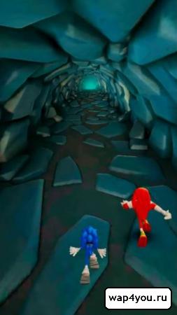 Скриншот игры Sonic Dash 2: Sonic Boom