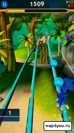 Скриншот Sonic Dash 2: Sonic Boom на андроид