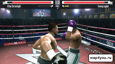Скриншот игры Real Boxing на андроид