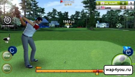 Скриншот игры Golf Star