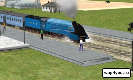 Скриншот Train Sim Pro
