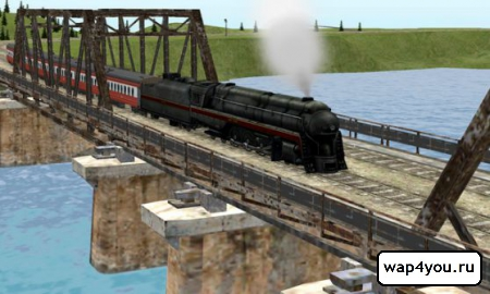 Скриншот игры Train Sim Pro