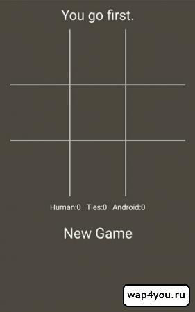 Скриншот Крестики нолики на Андроид