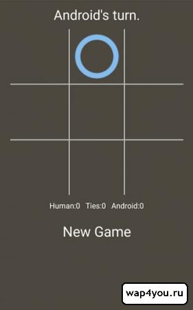 Скриншот Крестики нолики для Android