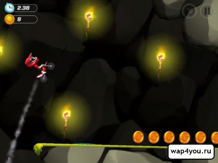 Скриншот игры BikeUp на андроид