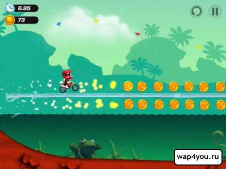 Скриншот BikeUp