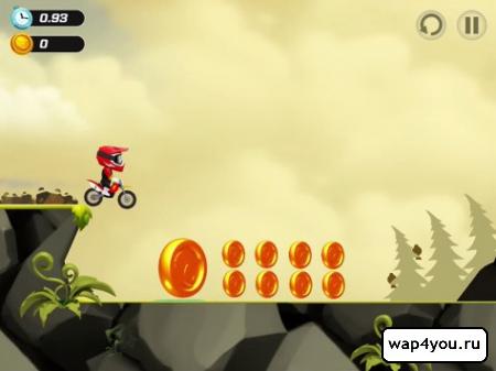 Скриншот игры BikeUp
