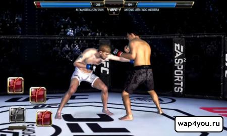 Скриншот игры UFC