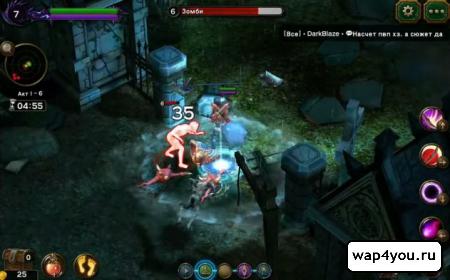 Скриншот игры Angel Stone на андроид