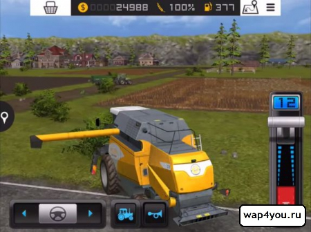 Скриншот Farming Simulator 16 на андроид