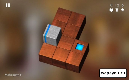 Скриншот головоломки Cubix Challenge