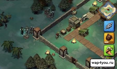 Скриншот Krafteers - Tomb Defenders для Android