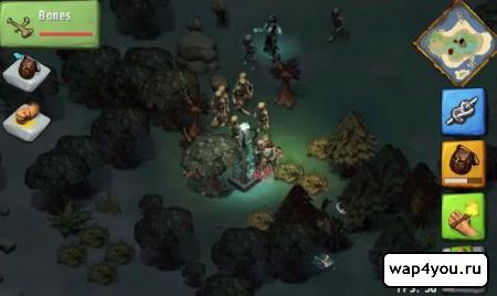 Скриншот Krafteers - Tomb Defenders на андроид