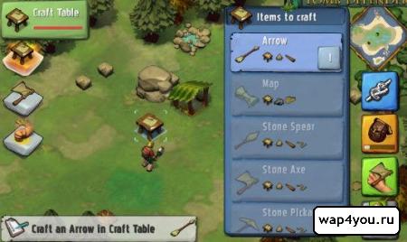 Скриншот Krafteers - Tomb Defenders