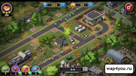 Скриншот Война Зомби – стратегия на андроид