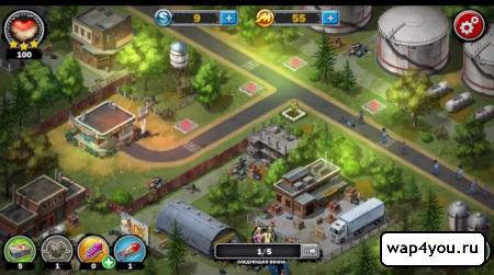Скриншот игры Война Зомби – стратегия
