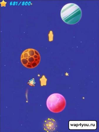 Скриншот игры Space Runner