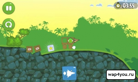 Скриншот игры Bad Piggies