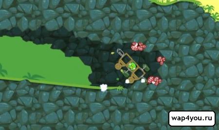 Скриншот игры Bad Piggies для андроид