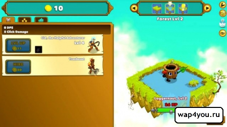 Скриншот Clicker Heroes на андроид