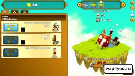 Скриншот Clicker Heroes для android