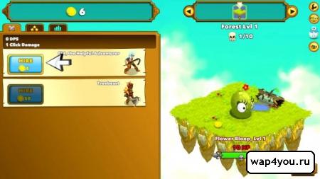 Скриншот Clicker Heroes