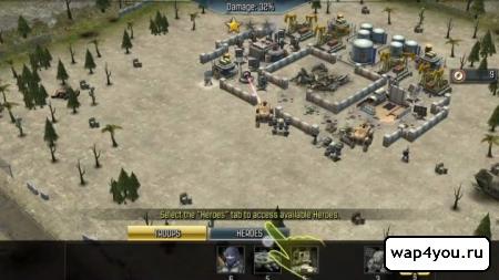 Скриншот Call of Duty: Heroes на андроид