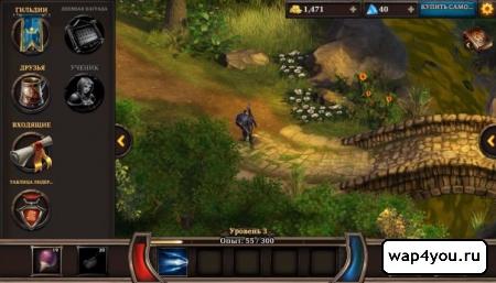 Скриншот KingsRoad для android
