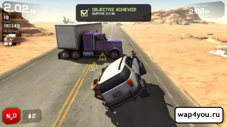 Скриншот Zombie Highway 2 для Android