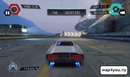 Скриншот Cyberline Racing на Андроид