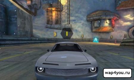 Скриншот игры Cyberline Racing на Андроид