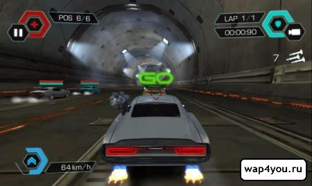 Скриншот Cyberline Racing для Android