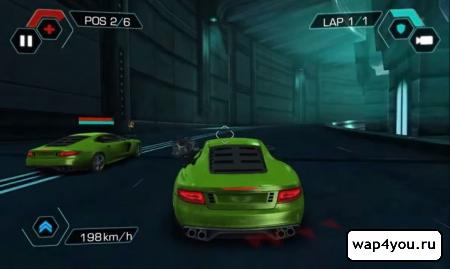 Скриншот игры Cyberline Racing