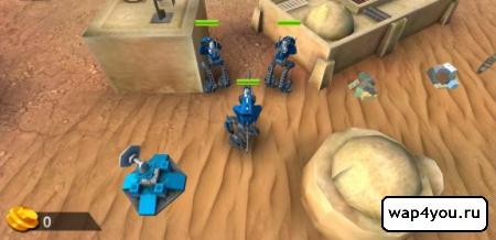 Скриншот LEGO Star Wars для Android
