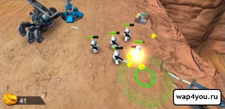 Скриншот LEGO Star Wars на Андроид