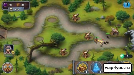 Скриншот Goblin Defenders 2 для android
