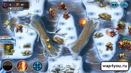 Скриншот Goblin Defenders 2 на android