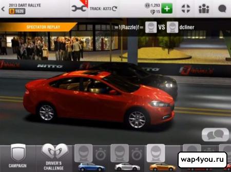 Скриншот Racing Rivals на android