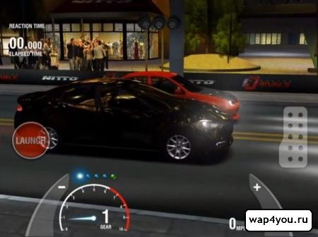 Скриншот гонок Racing Rivals