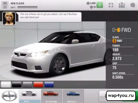 Скриншот Racing Rivals на андроид