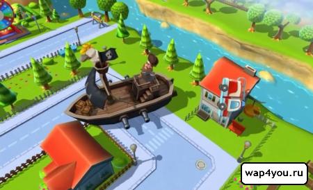 Скриншот игры Toysburg на андроид