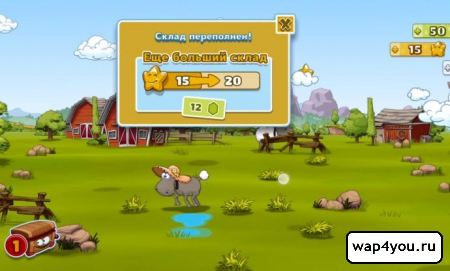 Скриншот Clouds & Sheep 2 для андроид