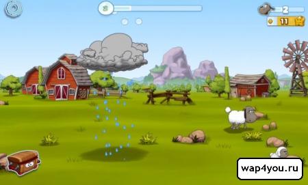 Скриншот игры Clouds & Sheep 2