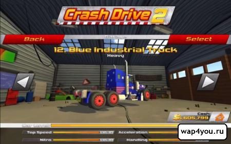 Скриншот игры Crash Drive 2