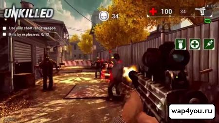 Скриншот  игры UNKILLED
