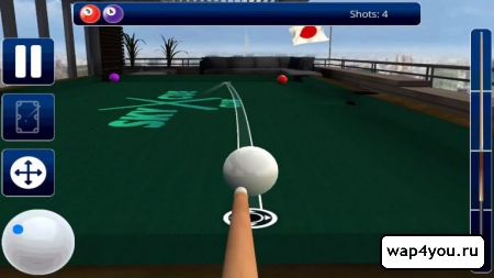 Скриншот игры Sky Cue Club: Pool & Snooker