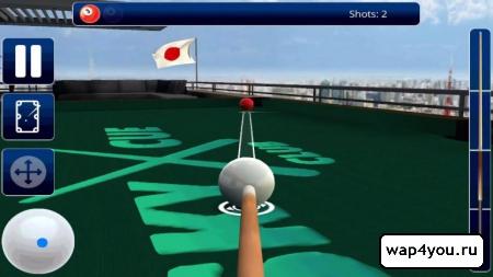 Скриншот игры бильярд