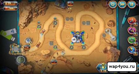 Скриншот игры Солдатики 4: Звездный десант