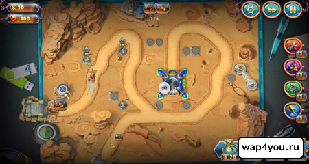 Скриншот Солдатики 4: Звездный десант на андроид